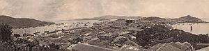 Portuguese Macau - Image: Vistaseculo 19portosinterioreext erior