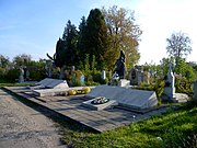 Volodymyr-Volynskyi Volynska-area-of brotherly graves of soviet warriors 1944-general view.jpg