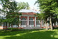 Vorontsovo manor Park. Architectural monument - northern pavilion, greenhouse. 18th century.JPG