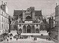 Vue de Saint-Germain l'Auxerrois, 1834 2.jpg