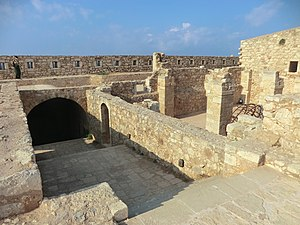 Rethymno - Inside the Fortezza of Rethymno