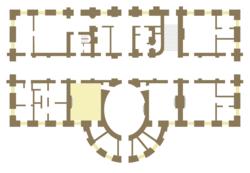 Sala de mapas wikipedia la enciclopedia libre - Planos de la casa blanca ...