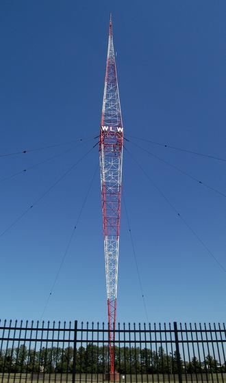 WLW - WLW's diamond-shaped Blaw-Knox radio tower