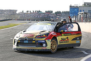 FIA World Rallycross Championship - The drivers champion of the first two seasons, Petter Solberg.