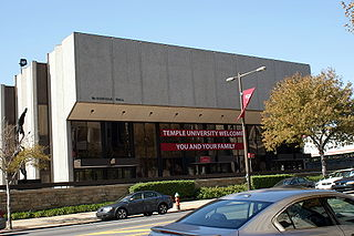 McGonigle Hall building in Pennsylvania, United States