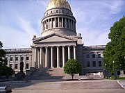 The West Virginia State Capitol.