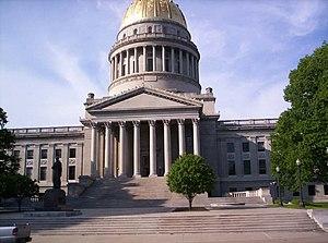 West Virginia Capitol Building.
