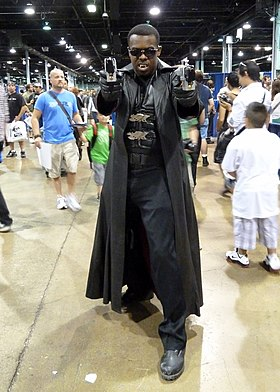 Cosplay de Blade, au Wizard World Chicago 2012.
