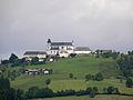 Waidhofen an der Ybbs - Blick vom Buchenberg auf Sonntagberg.jpg