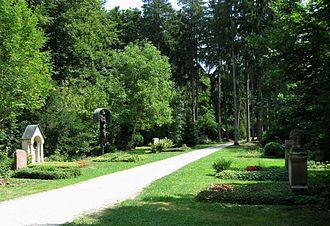 Munich Waldfriedhof - Image: Waldfriedhof Muenchen 4