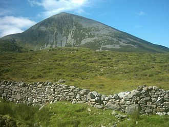 Reek Sunday - Croagh Patrick, a holy mountain in County Mayo, is climbed by thousands of pilgrims on Reek Sunday each year.