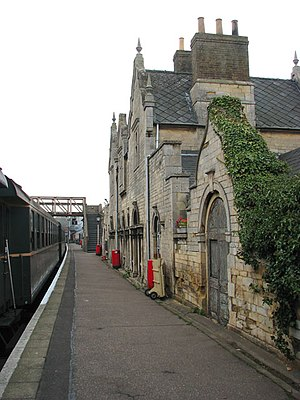 John Livock - Image: Wansford station the old station building geograph.org.uk 1560778