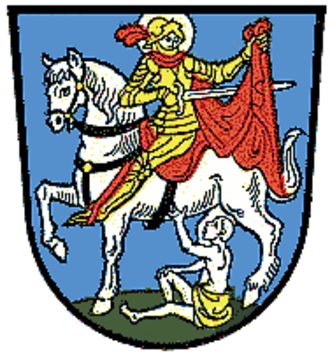 Waging am See - Image: Wappen Waging