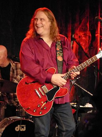 Warren Haynes - Haynes performing with Phil Lesh and Friends on December 5, 2013.
