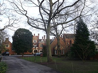 Coombe, Kingston upon Thames - Warren House, a hotel and conference centre on Warren Road.