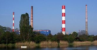 Siekierki Power Station - Image: Warszawa, Elektrociepłownia Siekierki 02