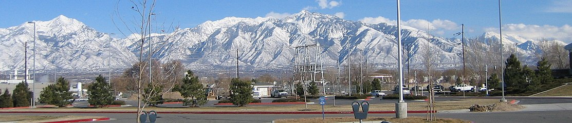 The Western Rocky Mountains provide an ideal setting for the Wasatch Front metropolitan area of Utah, but they also prevent the population from expanding eastward.