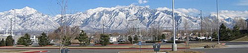 Wasatch Range of Rocky Mountains.