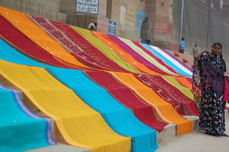 Ghat - Image: Washerwoman at Varanasi
