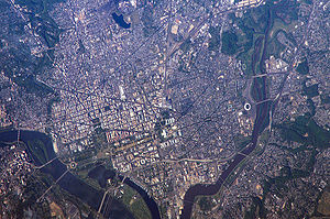 Geography of Washington, D.C. - Washington, D.C., from space