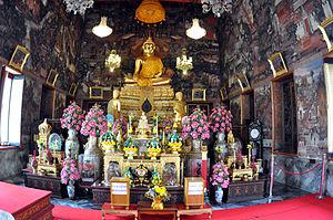 Ubosot - Interior, Ubosot of Wat Arun, Bangkok, Thailand