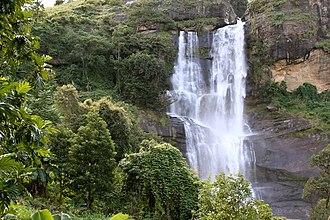 Uluguru Mountains - A remote waterfall near Kinole