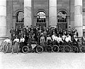 Waterford Bicycle Club at Court House, Waterford, Ireland, 1900s (5771160987).jpg