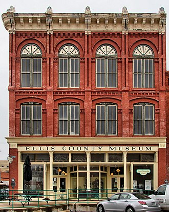 Ellis County, Texas - Across from the courthouse is the Ellis County Museum.