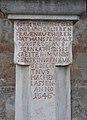 Wayside shrine in Eisenstadt, Burgenland, Austria-inscription PNr°0594.jpg