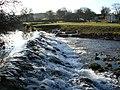 Weir at Maulds Meaburn - geograph.org.uk - 171735.jpg