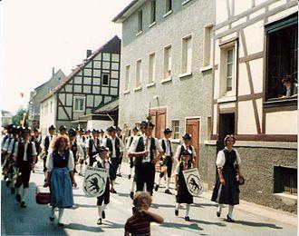 Ebersberg - Image: Weissmann Schützenfest Balve 1984