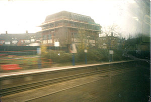 Wembley Stadium railway station - Image: Wembly stadium station 2001