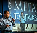 Wendell Brown Giving Keynote Address at the Mita Tech Talks November 2013.jpg