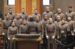 West Point Jewish Chapel - Image: West Point Jewish Chapel Cadet Choir