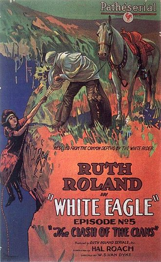 White Eagle (1922 serial) - A poster for episode number 5.