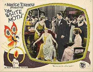 The White Moth - Lobby card