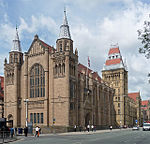 Victoria University of Manchester including Christie Library, Whitworth Hall