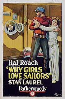 <i>Why Girls Love Sailors</i> 1927 film by Fred Guiol