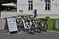 Wiener Zentralfriedhof - Leihfahrräder der Friedhöfe Wien.jpg