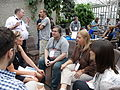WikiProject Medicine editors at Wikimania 2014 01.jpg