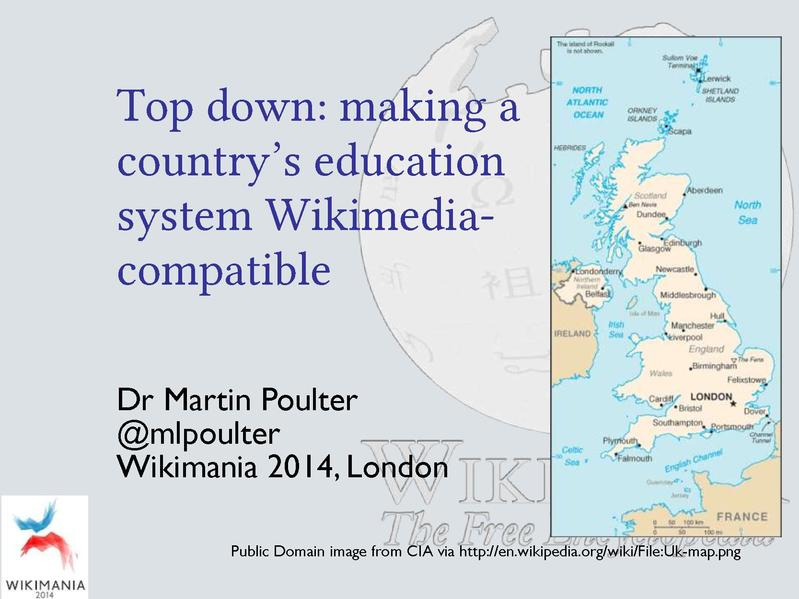 File:Wikimania 2014 Top down making a country's education system Wikimedia compatible.pdf