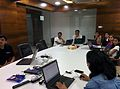 Wikipedia Edit session at Winjit Session.jpg