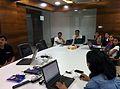 Wikipedia Edit session at Winjit Session.jpg
