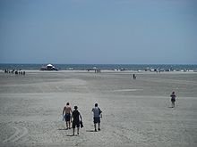 Beach In Wildwood