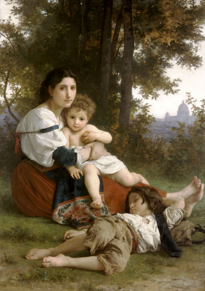 File:William-Adolphe Bouguereau (1825-1905) - Rest (1879).jpg