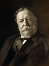 William Howard Taft, head-and-shoulders portrait, facing front