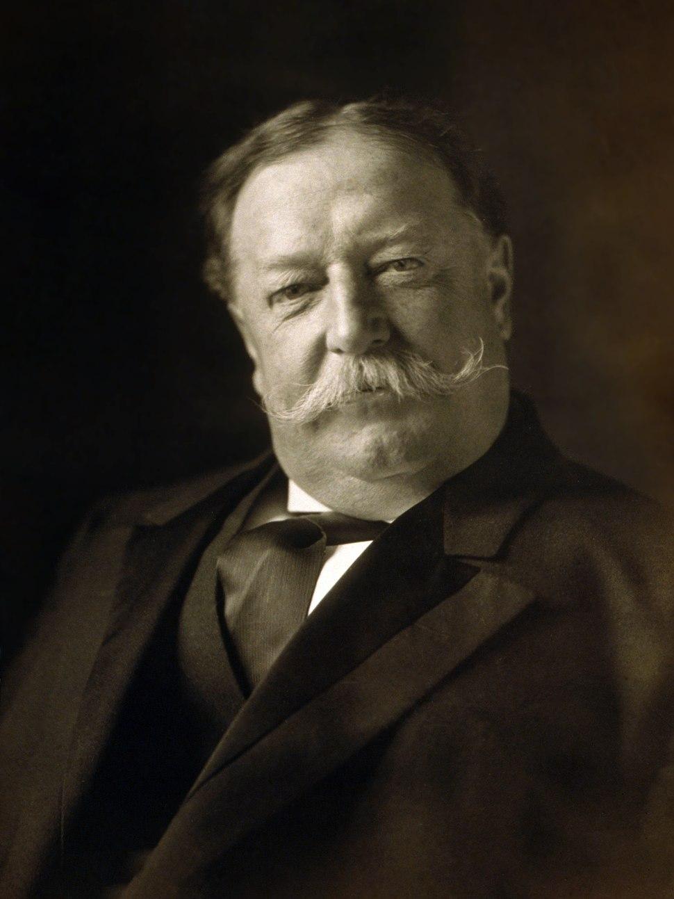 William Howard Taft, head-and-shoulders portrait, facing front
