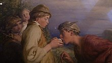 William Mulready - Giving a bite (1834) (detail) (V&A).jpg