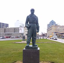 William Stephenson statue