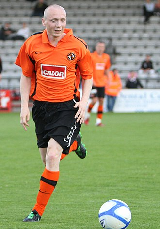 Willo Flood - Flood playing for Dundee United in 2011